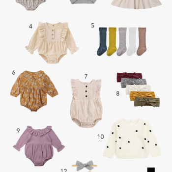 Baby Girl Amazon Fashion Finds (All Under $20!)