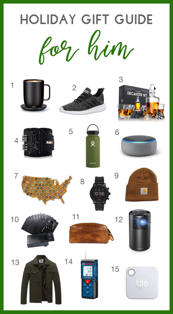 Holiday Gift Guide For him.