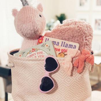 Baby's First Valentine's Day Gift Basket