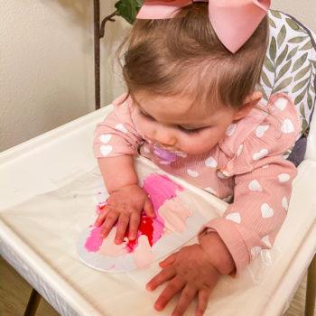 DIY Sensory Valentine Craft (No Mess!)