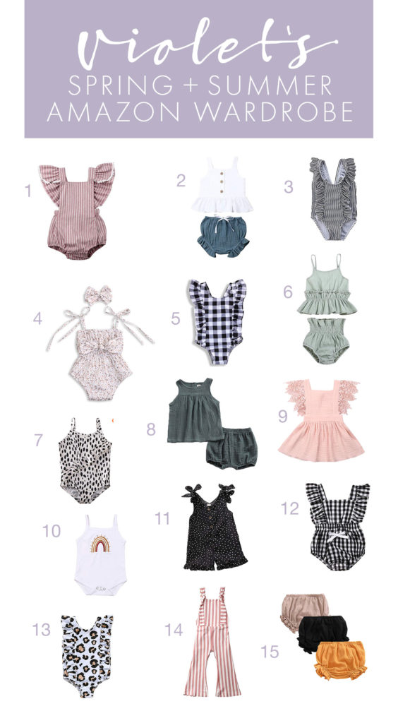 Violet's Spring and Summer Wardrobe