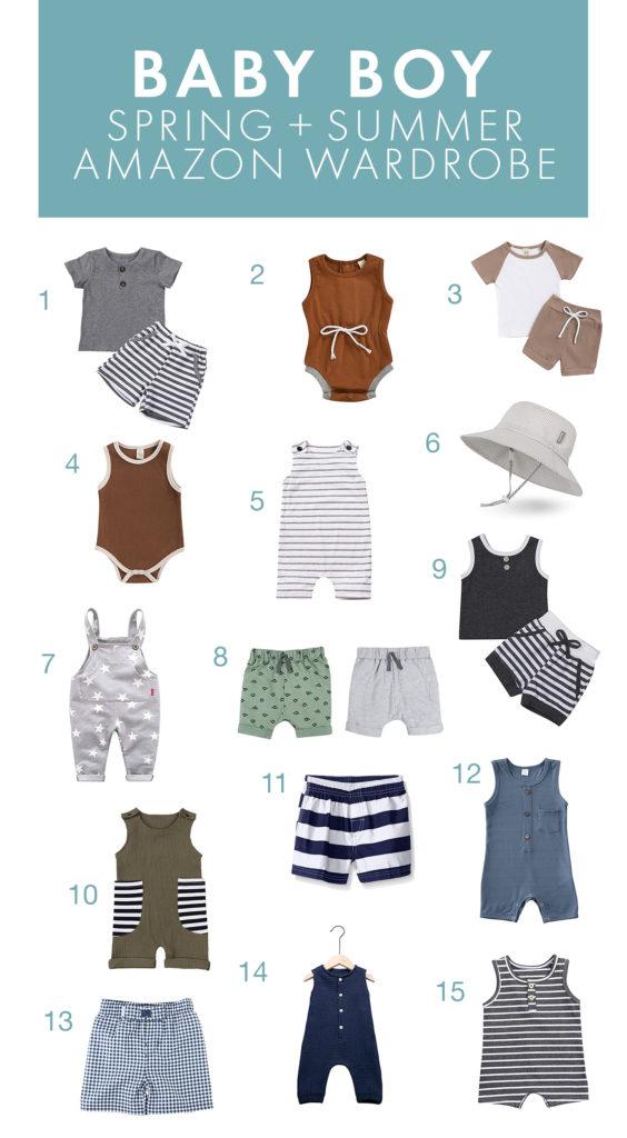Baby Boy Spring and Summer Wardrobe