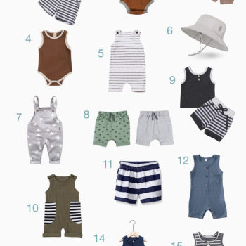 Baby Boy Spring + Summer Amazon Wardrobe