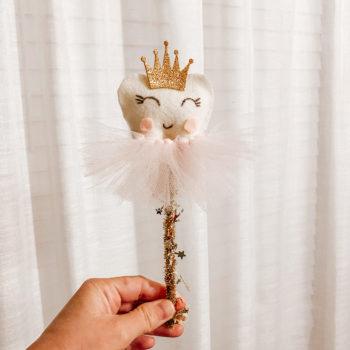 DIY No Sew Tooth Fairy Wand Tutorial