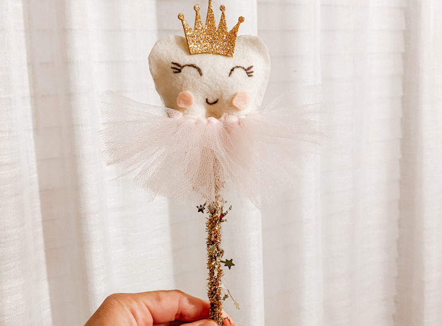 DIY No Sew Tooth Fairy Wand Tutorial