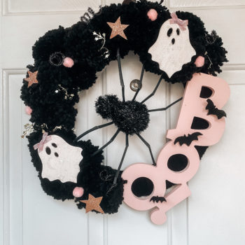 DIY Not So Spooky Halloween Wreath