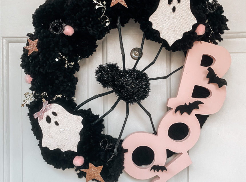 DIY Not So Spooky Halloween Wreath