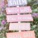 Dollar Tree DIY: Halloween Directional Signs