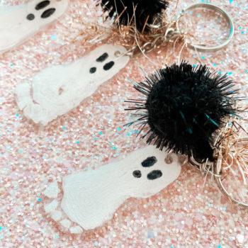 Shrinky Dink Footprint Ghosts