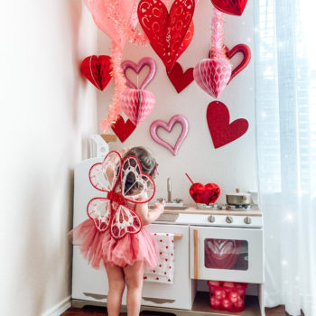 Valentine's Day Play Kitchen Reveal