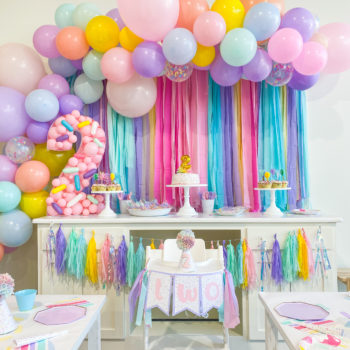 Two Sweet Sprinkle Second Birthday Party