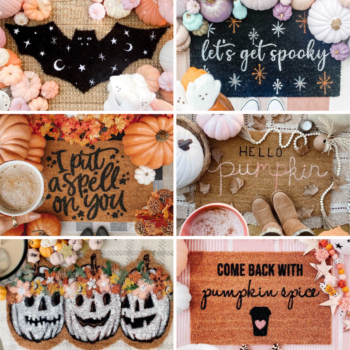 Spooky Doormats to Fall in Love With